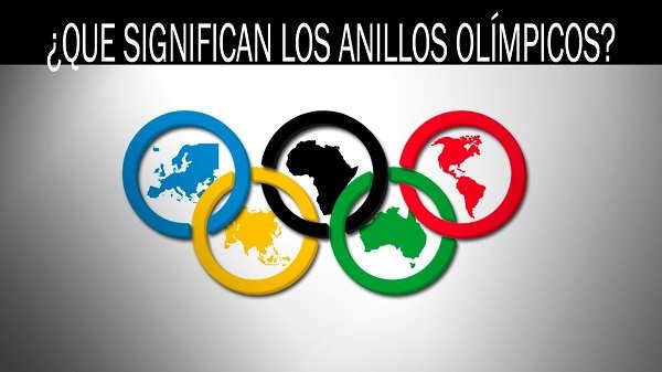significado aros olimpicos