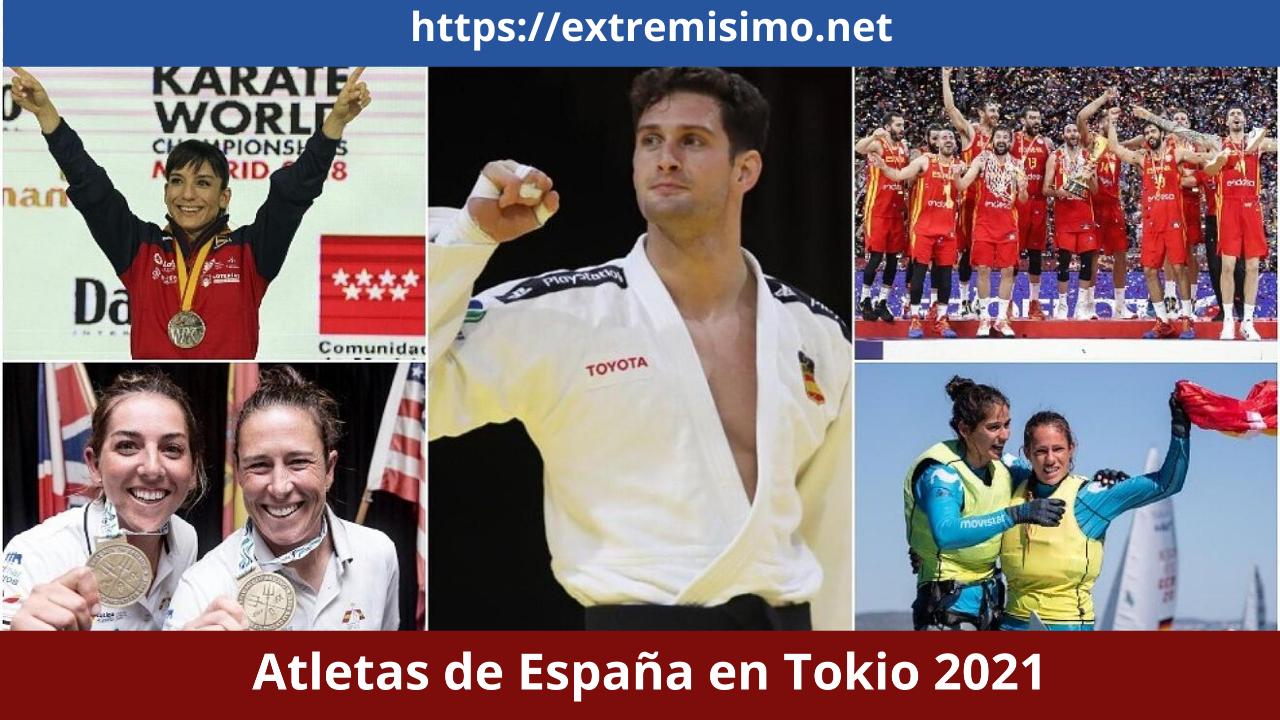 Atletas de España en Tokio 2021