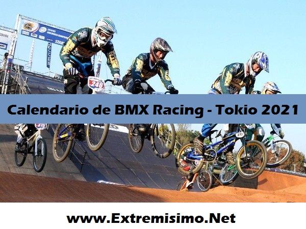 Calendario Tokio 2020 BMX Racing Juegos Olímpicos Tokio 2021