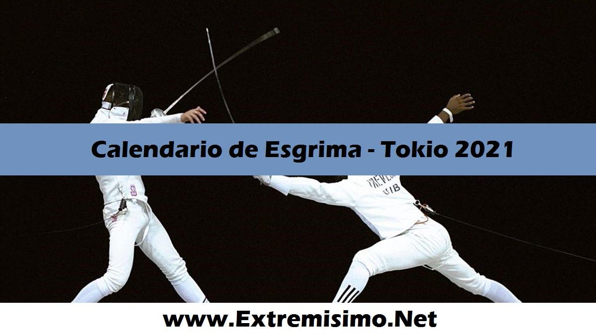 Calendario de Esgrima Juegos Olímpicos Tokio 2021
