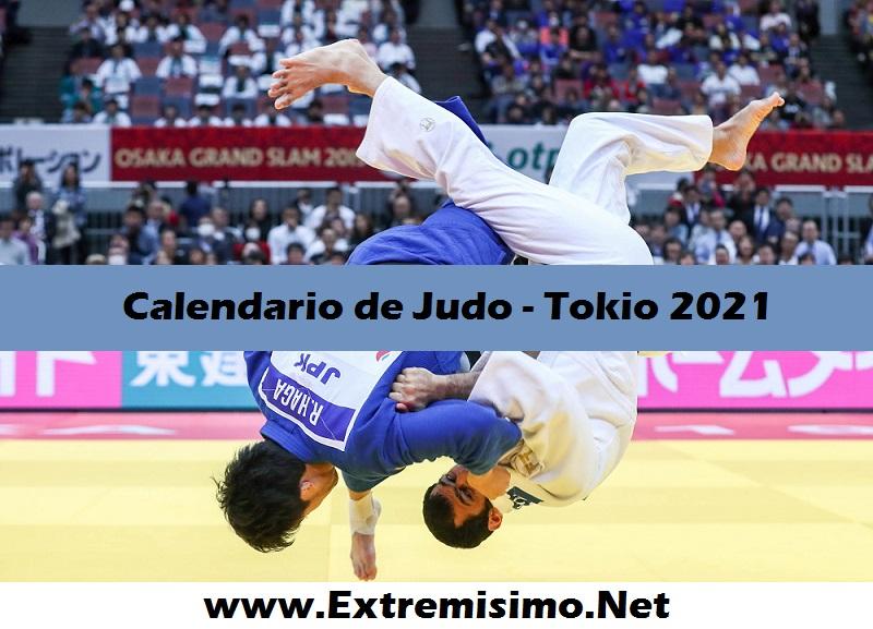 Calendario de Judo Juegos Olímpicos Tokio 2021
