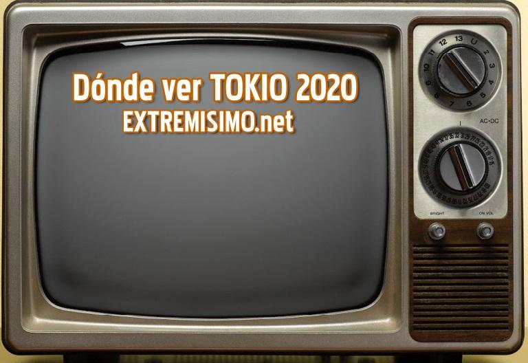 Dónde puedo ver Tokio 2020 canales transmision