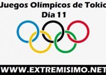 Juegos Olímpicos de Tokio 2021 día 11