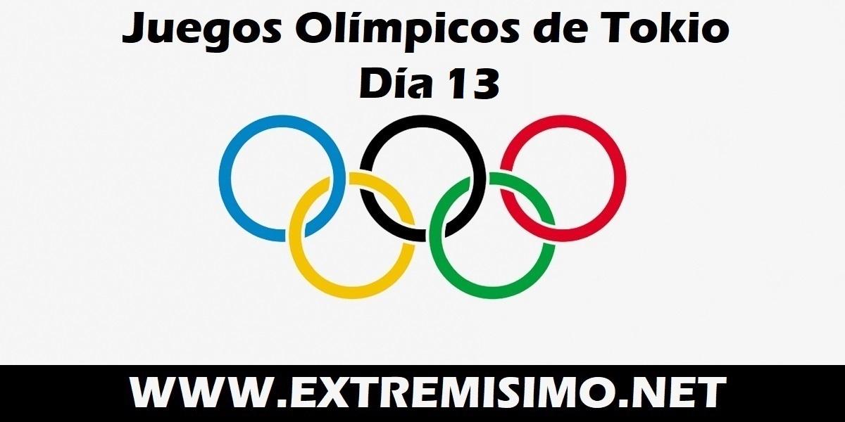 Juegos Olímpicos de Tokio 2021 día 13