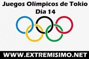 Juegos Olímpicos de Tokio 2021 día 14