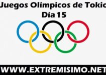 Juegos Olímpicos de Tokio 2021 día 15
