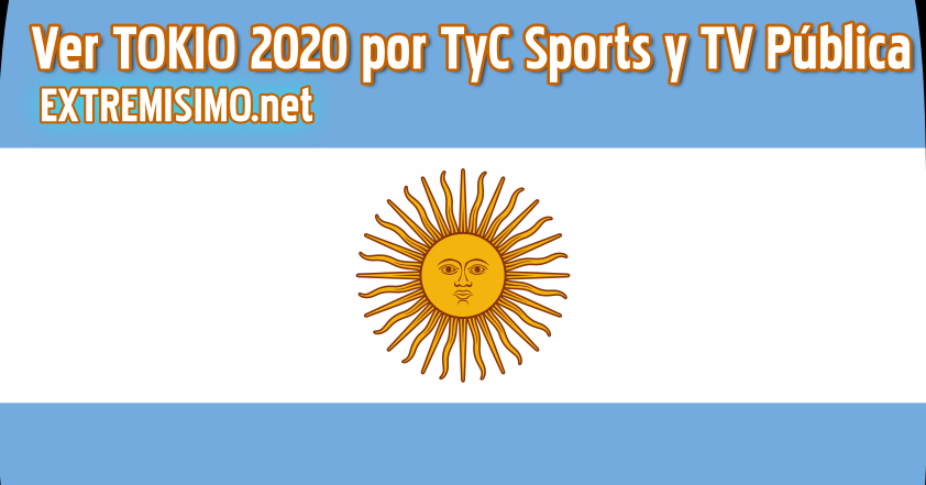 TOKIO 2020 Ver por TV Pública y TyC Sports en VIVO ONLINE