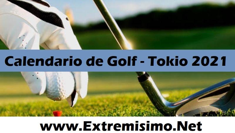 Tokio 2020 Calendario de Golf Juegos Olímpicos Tokio 2021
