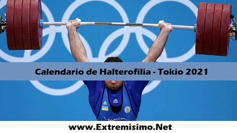 Tokio 2020 Calendario de Halterofilia Juegos Olímpicos 2021