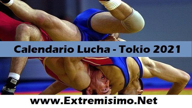 Tokio 2020 Calendario de Lucha Juegos Olímpicos Tokio 2021