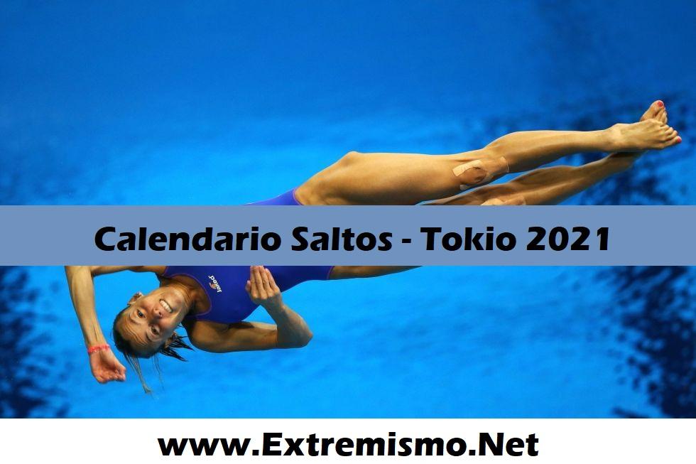 Tokio 2020 Calendario de Saltos Juegos Olímpicos Tokio 2021
