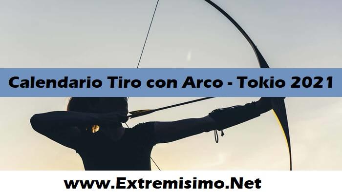 Tokio 2020 Calendario de Tiro con Arco Juegos Olímpicos Tokio 2021