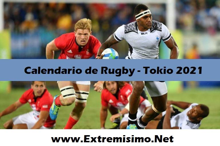 Tokio 2020 calendario de Rugby Juegos Olímpicos Tokio 2021
