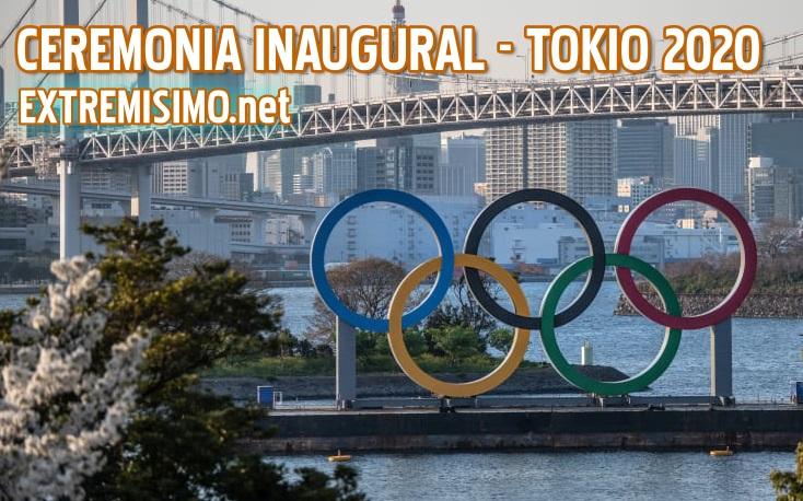 ver ceremonia inaugural tokio 2020 en vivo